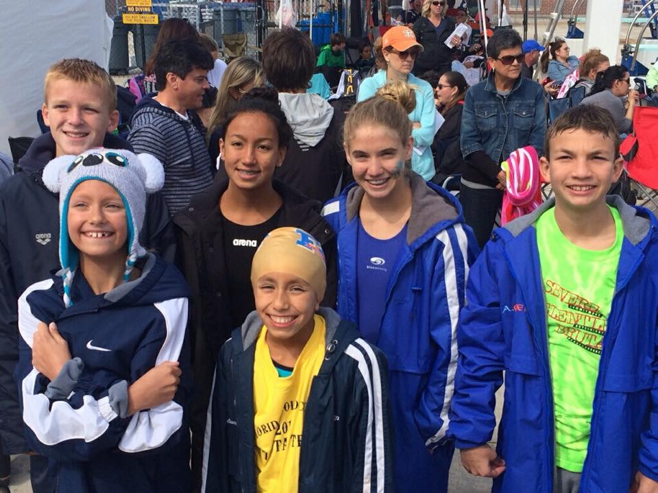 CSSC Swimmers Go Bests Times and Take Top Places at All-Star